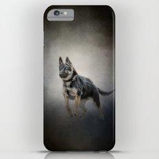 Feet First - German Shepherd Puppy Slim Case iPhone 6s Plus