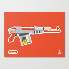 N-16 Sub Automatic Assault Light Gun Canvas Print