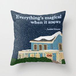Gilmore girls house Throw Pillow