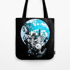The Lost Astronaut  Tote Bag