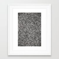 chaos Framed Art Prints featuring Chaos!! by Alejandro Ayala