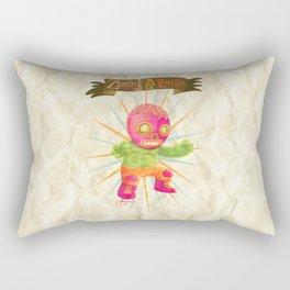 zombie ala lucha  Rectangular Pillow