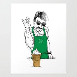 Coffee Bae Art Print
