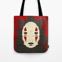 spirited away Tote Bags featuring Spirited by Danny Haas