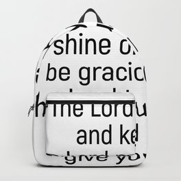 Numbers 6 24 #bibleverse #scriptures #blessing Backpack