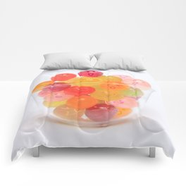 kawaii candy Comforters