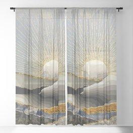 Morning Sun Sheer Curtain