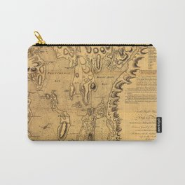 Map of Rhode Island 1777 Carry-All Pouch