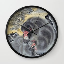 Monkeys - Digital Remastered Edition Wall Clock