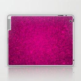 Garnet Pink Sparkling Jewels Pattern Laptop & iPad Skin