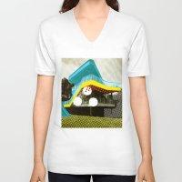 bauhaus V-neck T-shirts featuring BauHaus 4 by Marko Köppe