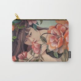 Steal Blossom Carry-All Pouch