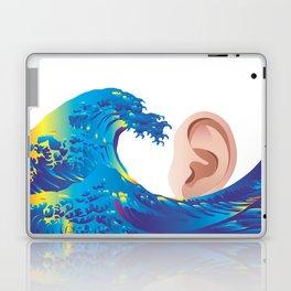 Hokusai Rainbow & Ear  Laptop & iPad Skin