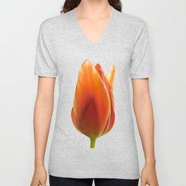 tulip pictures Unisex V-Neck