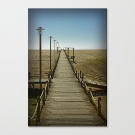 MY WAY TO THE SEA Canvas Print