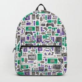 Nerdy Gamer Pattern Backpack