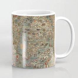 Carta Marina et Description 1539 Coffee Mug