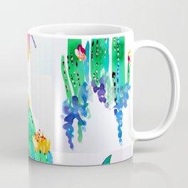 Watercolor Garden Coffee Mug