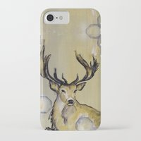stag iPhone & iPod Cases featuring Stag by Sonal Nathwani