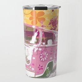 girl camper Travel Mug