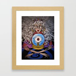 Divination Framed Art Print