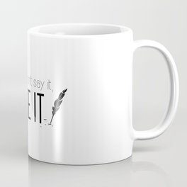 Writing urges #2 Coffee Mug