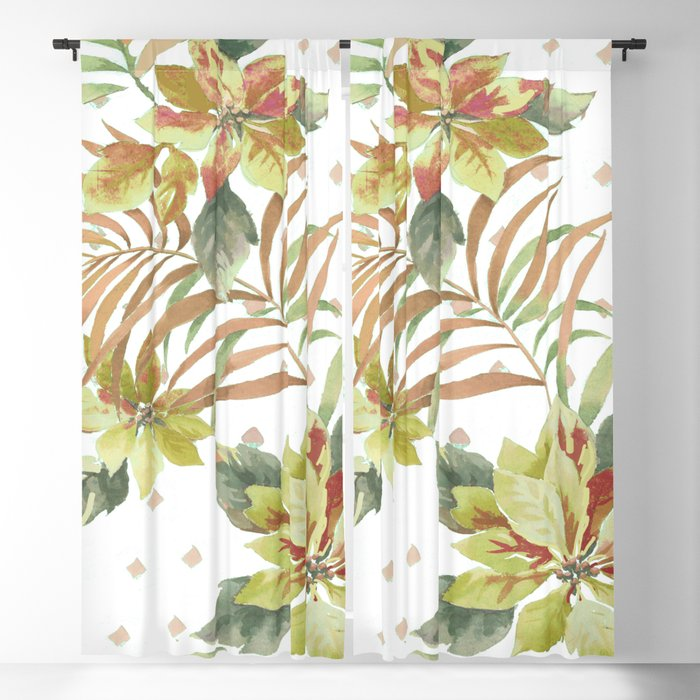 tropical summer Blackout Curtain