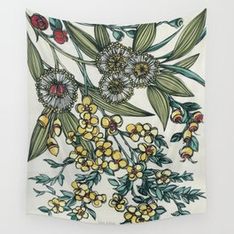 Australian Native Floral Wall Tapestry