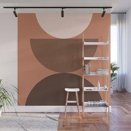 Abstraction_Mountains_Bohemian_Minimalism_004 Wall Mural