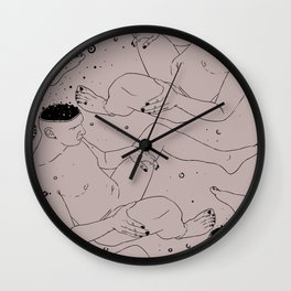 Nothing was fortunate to you. Wall Clock