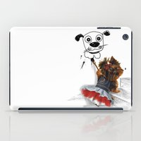 terrier iPad Cases featuring terrier by albertovna87