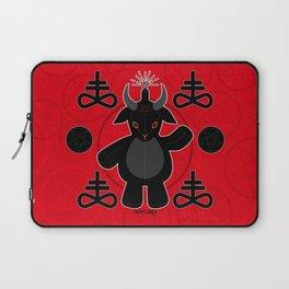 Baphomet Teddy Laptop Sleeve