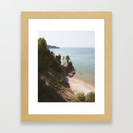 Grand Island | Pictured Rocks, Upper Peninsula, Michigan | John Hill Photography Framed Art Print