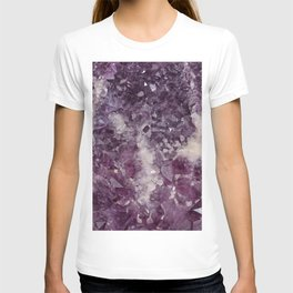 Deep Purple Quartz Crystal T-shirt