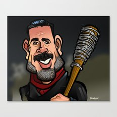 Negan and Lucille Canvas Print