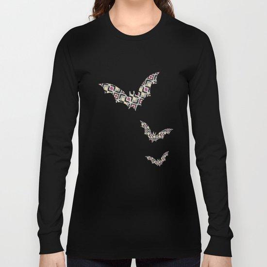 BatPattern Long Sleeve T-shirt