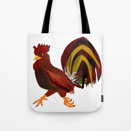 Feathery Noisemaker Tote Bag