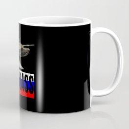 Hardbass - Tank Jump With Flag Coffee Mug