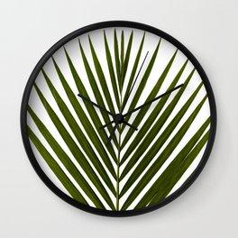 Bamboo - Tropical Botanical Print Wall Clock