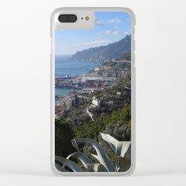 salernbo e la sua costa Clear iPhone Case