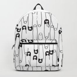 Safety Pin pattern Backpack