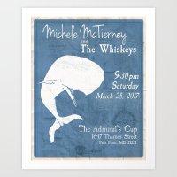 Admiral Cup Poster Design Art Print