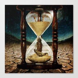 Sands of Time ... Memento Mori Canvas Print
