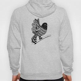 Zentangle Bird Hoody
