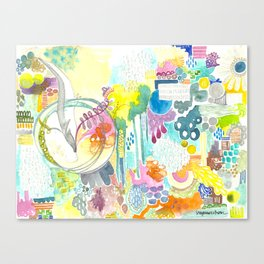 dreamscape song.  Canvas Print