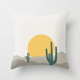 Desert Dreamin' Throw Pillow