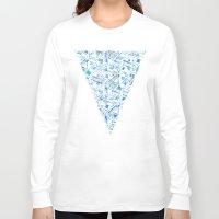 hologram Long Sleeve T-shirts featuring Hologram by Marta Olga Klara