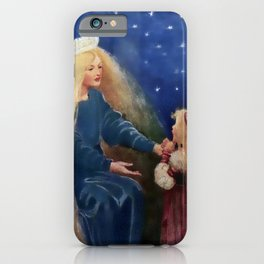 """""""Princess and the Goblin"""" by Jessie Willcox Smith iPhone Case"""