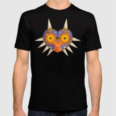 Majora's Mask | LoZ Mens Fitted Tee Black SMALL