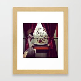 Booth Crane Framed Art Print